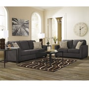 Signature Design by Ashley Alenya Living Room Set in Microfiber (1669SETCH)