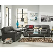 Signature Design by Ashley Bladen Living Room Set in Faux Leather (1209SETSLA)