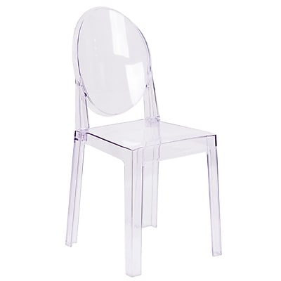 Ghost Chair with Oval Back (OWGHOSTBACK18)