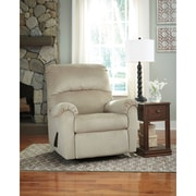 Signature Design by Ashley Bronwyn Swivel Glider Recliner in Fabric (1119RECGLDSND)