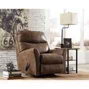 Signature Design by Ashley Tullos Rocker Recliner in Faux Leather (8729RECCOF)