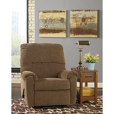 Signature Design by Ashley Pranit Wall Hugger Recliner in Chenille (7869RECHUGWAL)