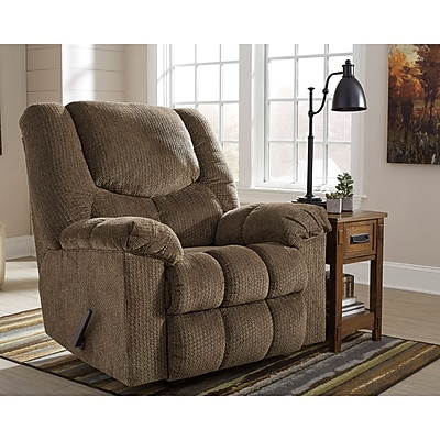 Signature Design by Ashley Turboprop Rocker Recliner in Fabric (1459RECBNS)