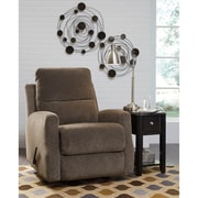Signature Design by Ashley Fambro Rocker Recliner in Chenille (5599RECTPE)