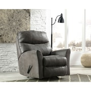 Signature Design by Ashley Tullos Rocker Recliner in Faux Leather (8729RECSLA)