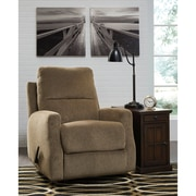 Signature Design by Ashley Fambro Rocker Recliner in Chenille (5599RECHZL)