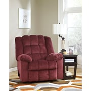 Signature Design by Ashley Ludden Rocker Recliner in Twill (6199RECBRG)