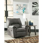 Signature Design by Ashley Bladen Rocker Recliner in Faux Leather (1209RECSLA)