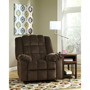 Signature Design by Ashley Ludden Power Rocker Recliner in Twill (6199RECPCOA)
