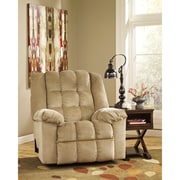 Signature Design by Ashley Ludden Rocker Recliner in Twill (6199RECSND)