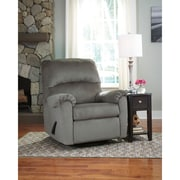 Signature Design by Ashley Bronwyn Swivel Glider Recliner in Fabric (1119RECGLDALO)