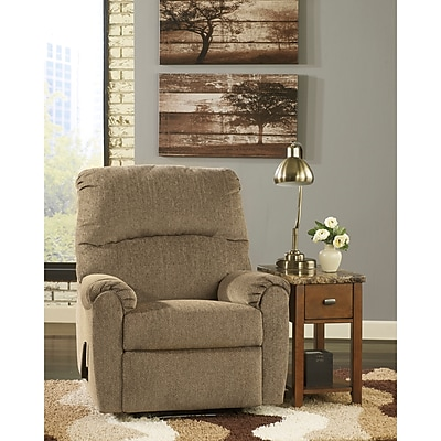 Signature Design by Ashley Pranit Wall Hugger Recliner in Chenille (7869RECHUGCRK)