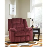 Signature Design by Ashley Ludden Power Rocker Recliner in Twill (6199RECPBRG)