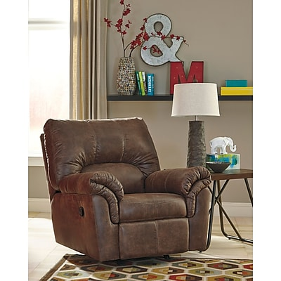 Signature Design by Ashley Bladen Rocker Recliner in Faux Leather (1209RECCOF)