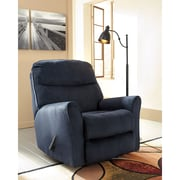 Signature Design by Ashley Cossette Rocker Recliner in Fabric (1069RECMID)