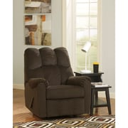 Signature Design by Ashley Raulo Rocker Recliner in Fabric (6719RECCHO)