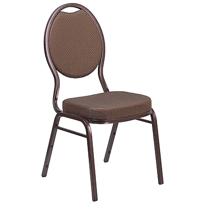 HERCULES Series Teardrop Back Stacking Banquet Chair (FDC04CPR08T02)