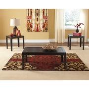 Signature Design by Ashley Birstrom 3 Piece Occasional Table Set, Black (TS311BK)