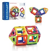 Smart Toys and Games Geosphere 31pc Magnetic Construction, Assorted Colors (SG-GE0210US)
