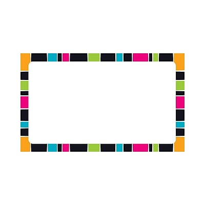 Trend Stripe-Tacular Terrific Index Cards Groovy Blank, 3