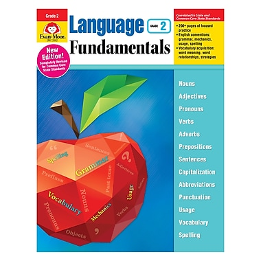 Evan-Moor Language Fundamentals Gr2 Common Core Edition, Ages 7-8 (EMC2882)