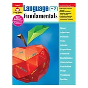 Evan-Moor Language Fundamentals Gr2 Common Core Edition, Ages 7-8 (EMC2882)