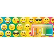 Ashley Laminated Emoji Hall Pass, Bundle of 3 (ASH10665)