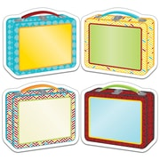 """Carson Dellosa Hipster Lunch Boxes Cut Outs, 8"""" x 6"""",  Assorted Colors (CD-120215)"""