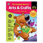 Carson-Dellosa The Complete Book of Arts & Crafts, Grades K-4 (CD-704935)