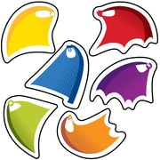 "Carson Dellosa Super Power Capes Cut Outs, 3.5"" x 5.25"" Assorted Colors (CD-120188)"