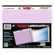 "Roaring Springs Landscape Legal Pads, Orchid, Blue and Pink, 11"" x 8.5"" (ROA74535)"