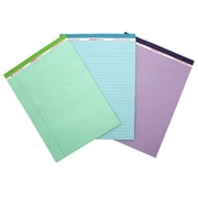 "Roaring Springs Legal Pads, Orchild, Blue and Green, 8.5"" x 11.75"" (ROA74100)"