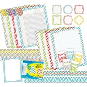"""Curated Collection Beautiful Chevron 403/set, Assorted Shapes, 22"""" x 18"""" (BCP3527)"""