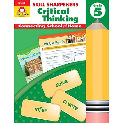 Skill Sharpeners Critical Thinking, Grade 5 (EMC3255)