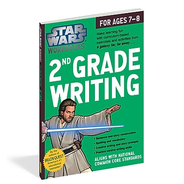 Star Wars Workbook: 2nd Grade Writing (WP-17813)