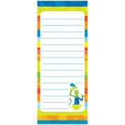 "Eureka, Dr Seuss Spot On Seuss Note Pads 3.5"" x 8.5"", Bundle of 6, 50 sheets/pk total of 300 (EU-643613)"