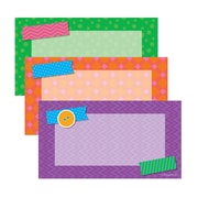 "Scholastic Tape it Up Accents 72/pk, Assorted Colors, 5.5"" x 3"" (SC-812795)"