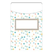 Eureka Confetti Splash Library Pockets (EU-866403)