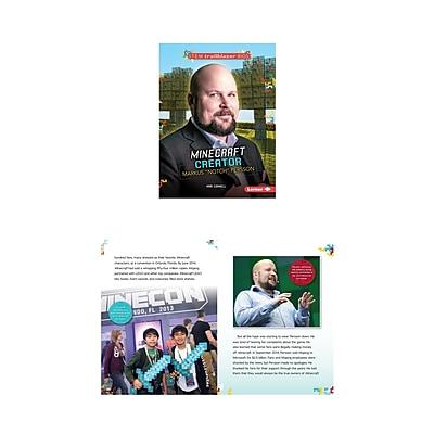 Lerner Publications Stem Bios Diana Markus Notch Persson Minecraft Creator (LPB1467797138)