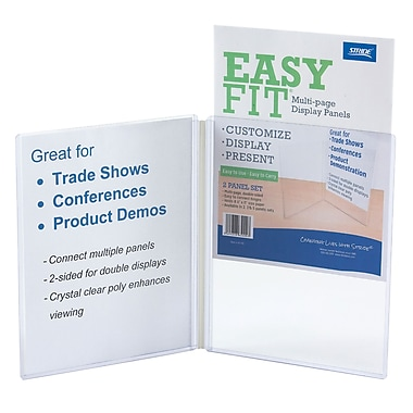 Stride, Clear Display Panels, 2 Count Panels, 12