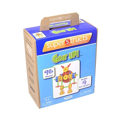Relevant Play-Waba, Superstructs Gear Up, 96pcs Assorted