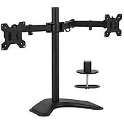 "Mount-It! Dual Monitor Stand for 19""-32"" Screens (MI-2781B)"