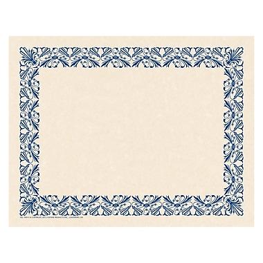 Flipside, Art Deco Border Paper Blue, bundle of 6, 50 sheets per pack, total of 300, 11