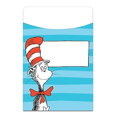 Eureka, Dr Seuss Classic Library Pockets, Bundle of 3 total of 105 (EU-866411)