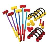 Champion Sports Foam Croquet Set, Red, Yellow & Blue, 26 pcs (CHSFCRSET)
