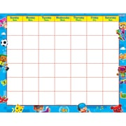 "Trend Blockstars Wipe Off Calendar Monthly, 22"" x 28"" (T-27031)"