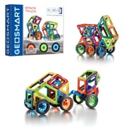 Smart Toys and Games, Space Truck 43pc Magnetic Construction, Assorted Colors (SG-GE0301US)