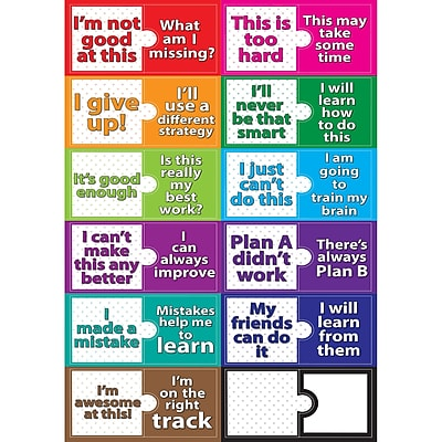 Ashley Growth Mindset Magnetic Mini BBS, 12
