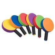 Rhino Skin® Foam Paddle Set, Rainbow Colored, Set of 6 (CHSRSPP5SET)