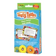 Teacher Created Resource, Math Tasty Task Cards Place Value, 51/pk (EP-3658)